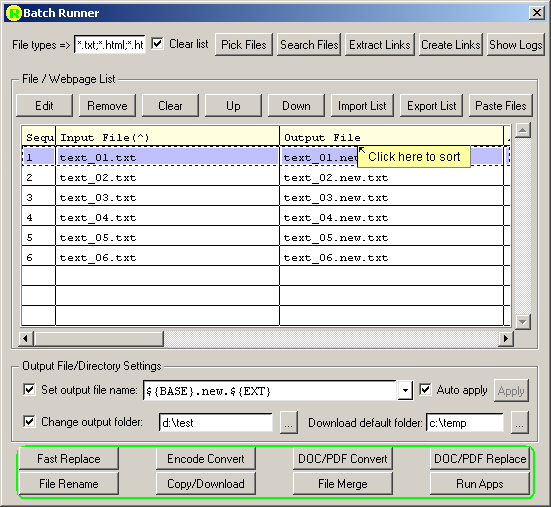 Download Bulk File Merger 1.5 for Mac Free
